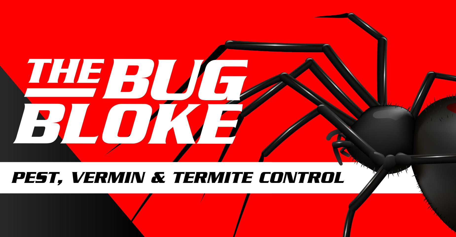 the bug bloke residential and commercial pest control header image