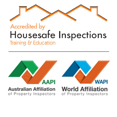 Housesafe Inspections Accredited - Australian and Work Affiliation of Property Inspectors Logo